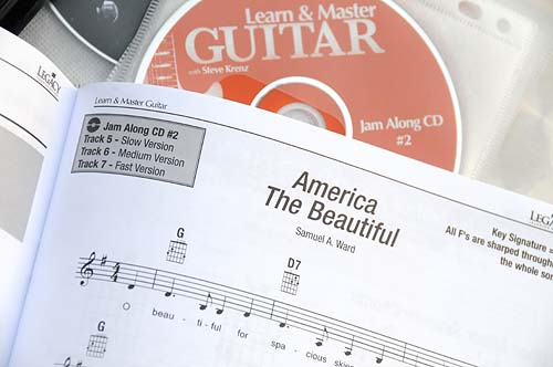 LMG lesson book sample jam along tune