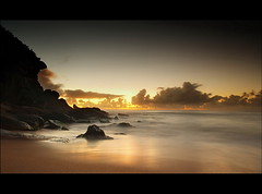 Barrenjoey 2 (Tim Donnelly (TimboDon)) Tags: ocean sea water silhouette sunrise rocks australia nsw barrenjoey supershot anawesomeshot bestofaustralia