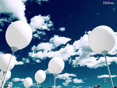 Momentos (Adalton Ramos) Tags: blue brazil sky brasil balloons children happy photography sony great expressions happiness dalton par beatiful ramos altamira daltonramos bemflickrbembrasil
