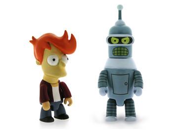 Juguete futurama Bender Fry