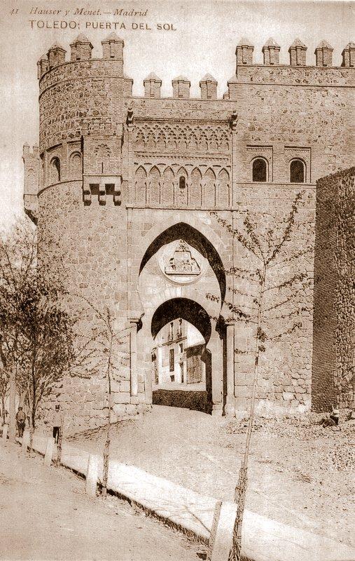 Puerta del Sol, Toledo. Foto Hauser y Menet