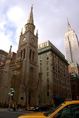 Marble Collegiate Church by bowiesnodgrass, on Flickr