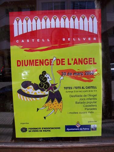 Cartell Diumenge de l'Angel 2008