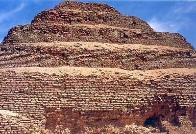 Pirámide Escalonada de Sakkara, Egipto