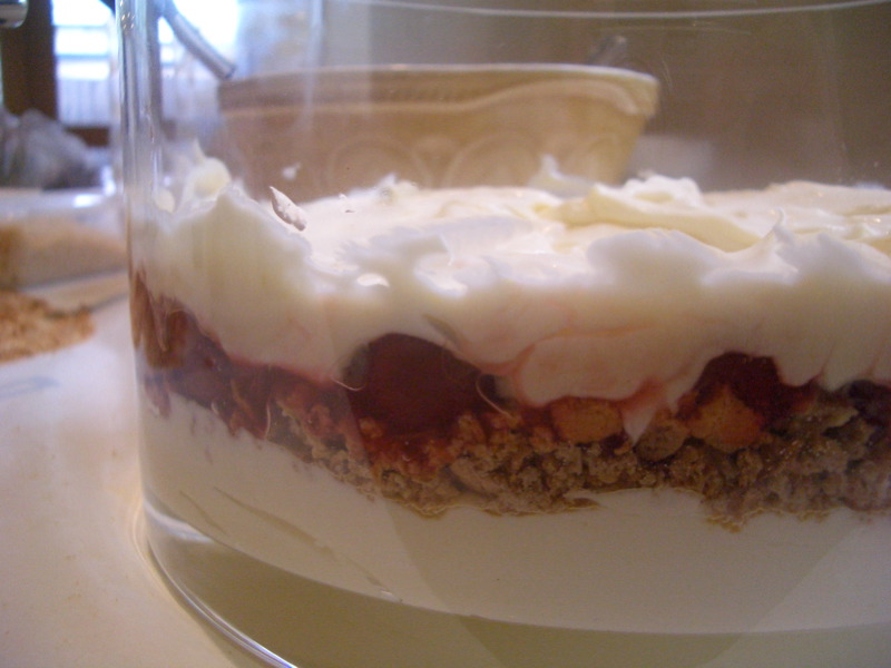 Cheesecake layer