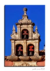 Campanario (Belfry) (Pablo Arias) Tags: nikond50 hdr efectoorton edificiosymonumentos kddsnikonistas