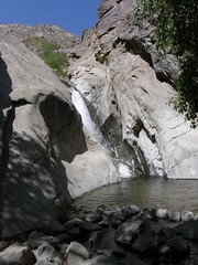 Taquitz Canyon waterfall