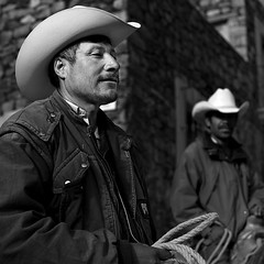 New Cowboys (Luis Montemayor) Tags: portrait people blackandwhite man blancoynegro cowboys square mexico gente retrato hombre riders realdecatorce vaqueros cuadrado jinetes dflickr dflickr180307