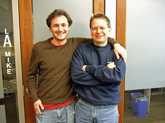Dave with Mike Artamonov