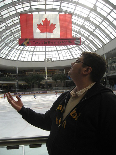patinoire at west edmonton mall
