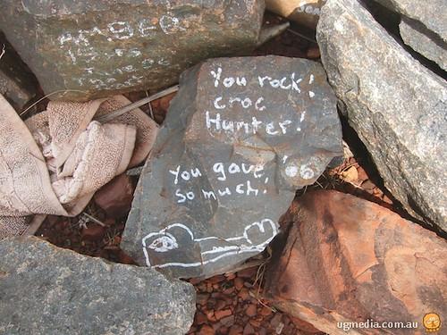 Rock pile memorial