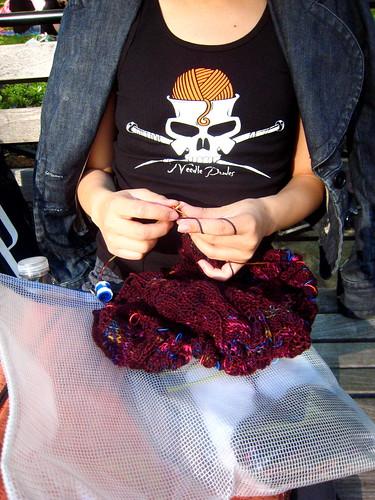 Knitting Skull