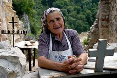 Tradition 2 (Blagoja Jankoski) Tags: old woman church monastery macedonia tradition orthodox ruined matka svnedela