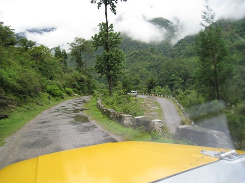 Typical hairpin turn