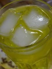 """Mountain Dew  """" """" ({ Bint ElnuzHa~) Tags: mountain ice glass yellow fresh delicious dew"""