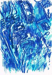 TRAS LAS VENTANAS (GARGABLE) Tags: callefermincaballero barriodelpilar angelbeltrán apuntes sketch drawings dibujos ciudad gargable