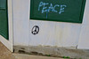 Peace, McComb, MS (Robby Virus) Tags: mccomb mississippi ms peace graffiti sign symbol wall