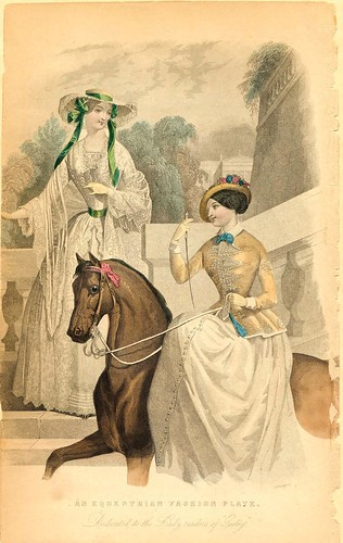 An Equestrian Fashion Plate