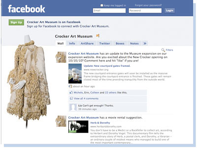 Crocker Art Museum on Facebook