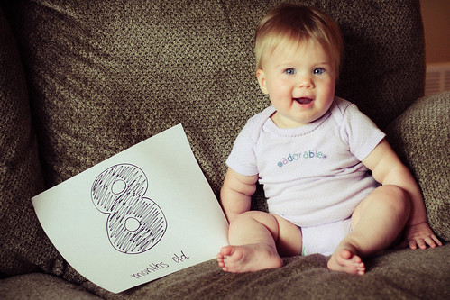 Audrey, 8 months