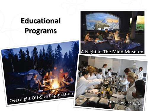 The Mind Museum Educational Programs