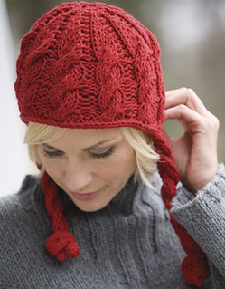 Free Knitting Patterns For Hats In The Round : Ravelry: Cabled Hat pattern by Kristen TenDyke