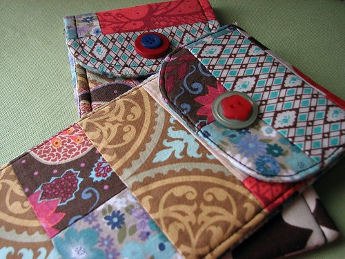 patchwork pouches