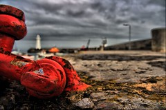 Rust on the Harbour (Z0L1TA) Tags: red sky coastguard lighthouse water clouds geotagged boats rust harbour stormy lampost northernireland hdr allrightsreserved donaghadee sigma1770mm mywinners canon400d zolita1908 zolitamcguicken wwwzolitacouk photographybyzolitamcguicken© ɀ photographybyzolitamykytyn© zolitamykytyn zolitaphotography httpzolitaphotographywixcomzolita ɀolita