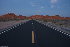 Road to Valley of Fire