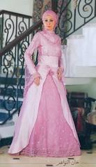 pink engagement dress