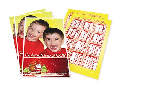 Calendários de Bolso de Natal