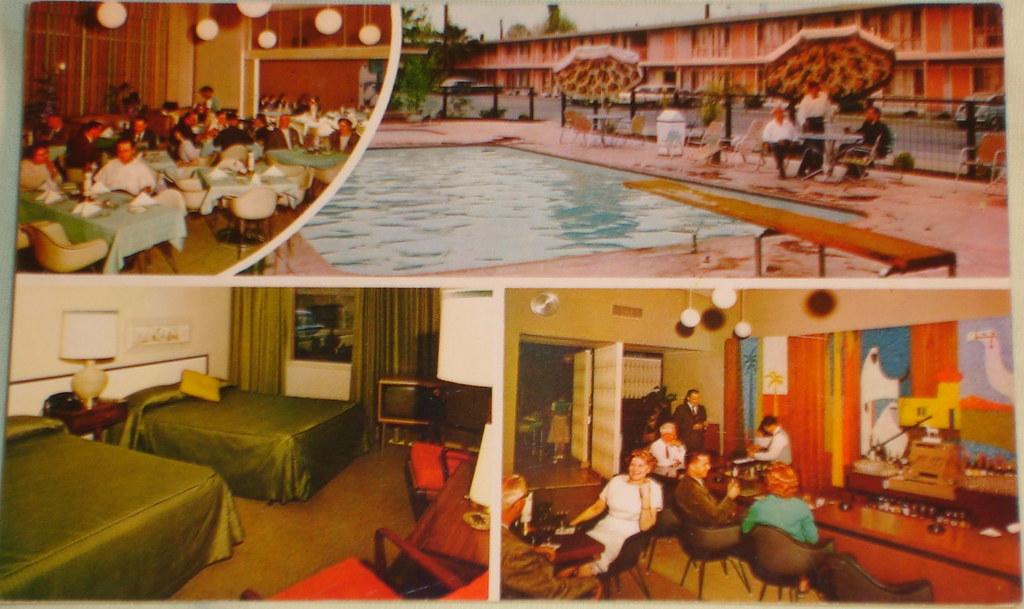 Sands Caravan Inn postcard