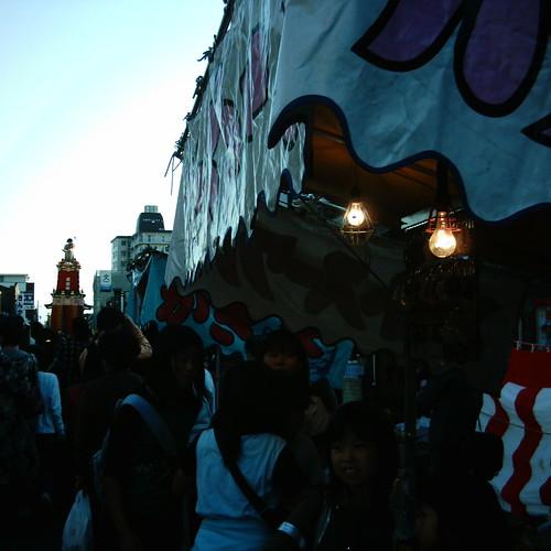 【写真】Dashi(Float) on the street [ Kawagoe Festival ]