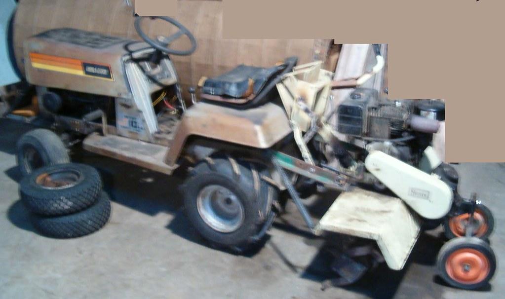 Lawn Tractor Tiller