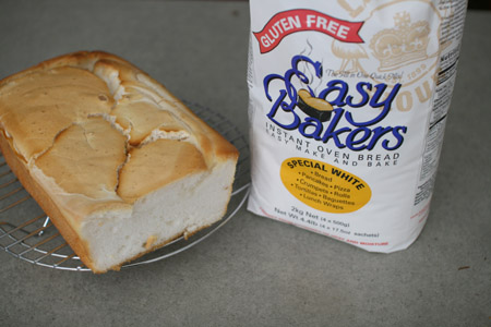 easy bakers gluten free bread