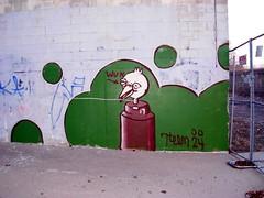 bird (ExcuseMySarcasm) Tags: urban streetart bird art graffiti grafiti character graf detroit 24 graffito graffitis wun 7teem