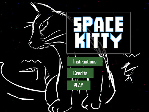 Space Kitty by spaceninja