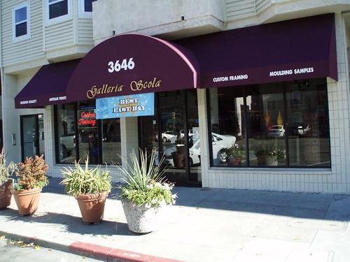 Galleria Scola store front exterior