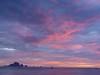Impressionist sunset (chelseafb) Tags: pink sunset sea sky mer water thailand agua asia southeastasia mare céu ciel cielo asie thailande