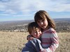 Abbie and Jack on Green Mountain