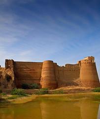 Derawar Fort (Irfan Mirza) Tags: travel pakistan building architecture fort tourist historical irfan mirza sialkot derawar