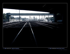 Darks and Lights ~the way~ (Dmitriy Kraynev) Tags: lines train way industrial perspective rail railway darck