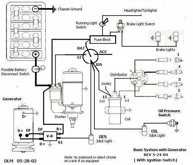 2246974639_1e425f7185_o vw alternator wiring diagram empi vw alternator wiring diagram basic alternator wiring diagram at n-0.co