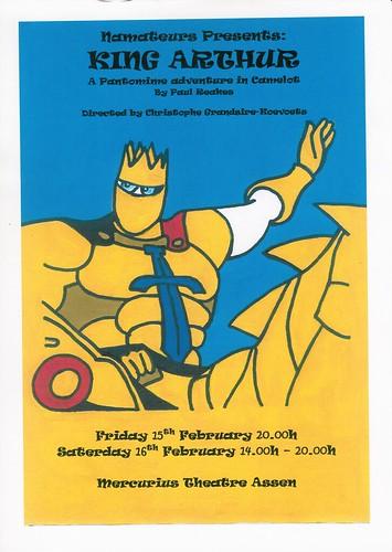 Poster King Arthur Pantomime
