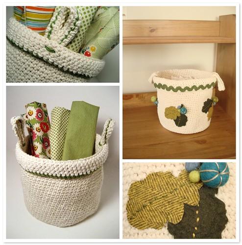 Little crochet basket