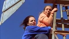 Claire rescues acrophobic Tess