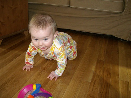 crawling to her next victim