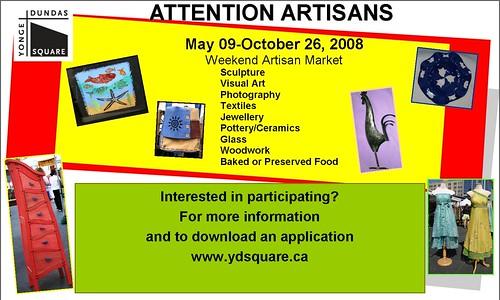 Artisan Market Info