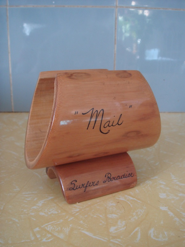 mail holder from East Kew Vinnies