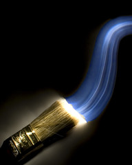 Painting With Light (JRyle79) Tags: county blue light abstract color art night speed dark painting colorful paint slow with lexington kentucky ky brush shutter co nite fayette blueribbonwinner cy2 theunforgettablepictures